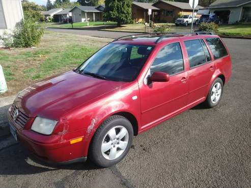 2004 Jetta TDI wagon 5spd 38-49 mpg for sale in Creswell, OR