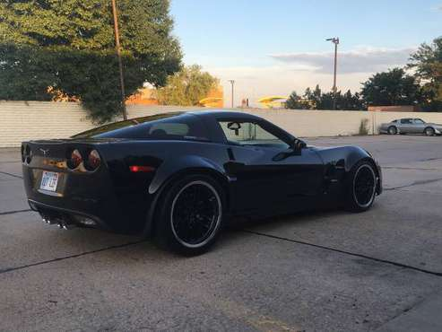 C6 corvette with zr1 wide body kit for sale in Wichita, KS