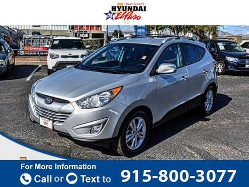 2013 Hyundai Tucson GLS suv Diamond Silver for sale in El Paso, TX