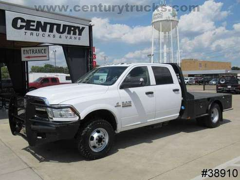 2017 Ram 3500 4X4 DRW CREW CAB WHITE Current SPECIAL!!! for sale in Grand Prairie, TX