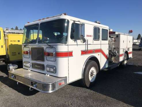 Nov. 13th Auction: 1992 Seagrave Crew Cab Fire Engine for sale in Spokane, WA
