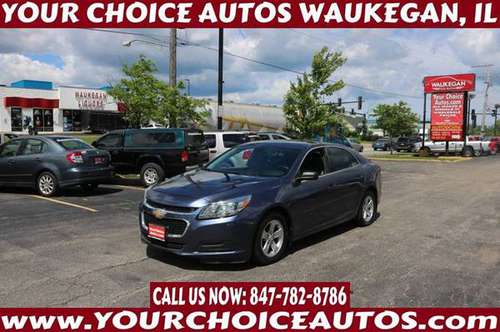 2014 *CHEVY/CHEVROLET *MALIBU LS* GAS SAVER CD ALLOY GOOD TIRES 292820 for sale in WAUKEGAN, IL