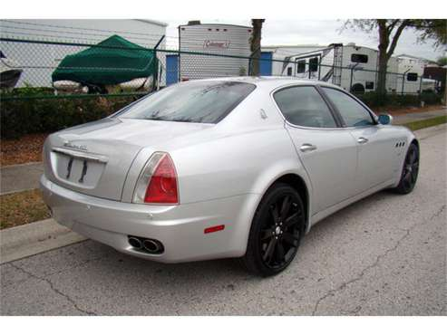 2007 Maserati Quattroporte for sale in West Palm Beach, FL