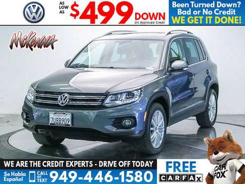 2016 Volkswagen VW Tiguan 2WD 4dr Auto SE for sale in Huntington Beach, CA
