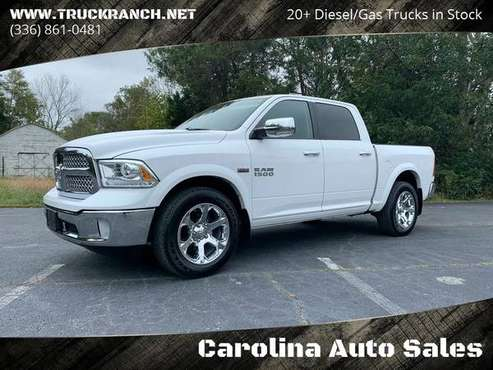2015 Dodge RAM 1500 Laramie 4x4 Crew Cab ROOF* BACKUP* HEATED LEATHER* for sale in Trinity, SC