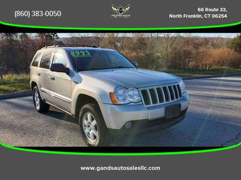 2010 Jeep Grand Cherokee - Financing Available! - cars & trucks - by... for sale in North Franklin, RI