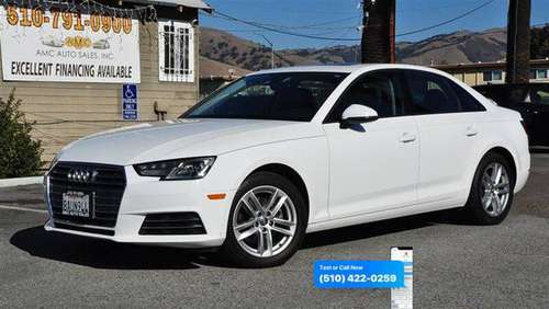2017 Audi A4 2.0T ultra Premium 2.0T ultra Premium 4dr Sedan -... for sale in Fremont, CA