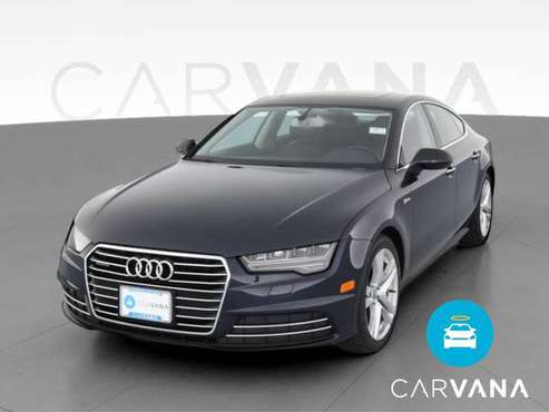 2017 Audi A7 Premium Plus Sedan 4D sedan Blue - FINANCE ONLINE -... for sale in Indianapolis, IN
