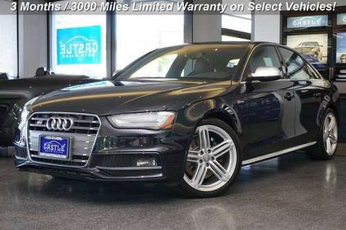 2014 Audi S4 AWD All Wheel Drive 3.0T quattro Premium Plus Sedan for sale in Lynnwood, WA