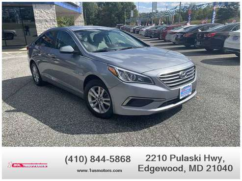 2017 Hyundai Sonata - Financing Available! for sale in Edgewood, MD