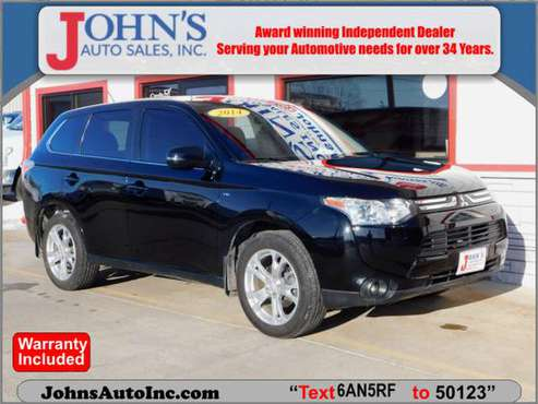 2014 Mitsubishi Outlander GT for sale in Des Moines, IA