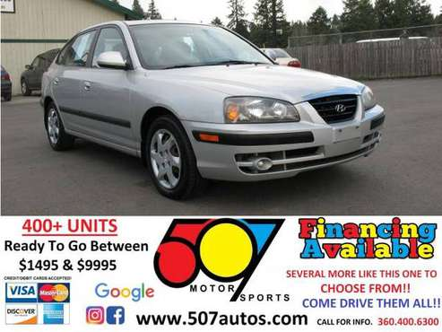 2006 Hyundai Elantra 5dr Sdn GLS Auto - cars & trucks - by dealer -... for sale in Roy, WA
