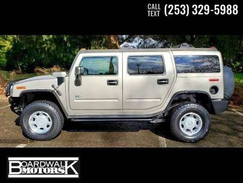 2003 Hummer H2 SUV H-2 4dr Hummer H 2 for sale in Auburn, WA