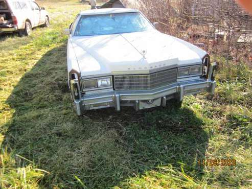 1976 Cadillac Eldorado - cars & trucks - by owner - vehicle... for sale in Wellsville, MO