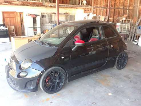 2012 FIAT ABARTH for sale in Desert Hot Springs, CA