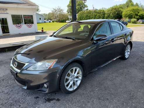 2011 Lexus IS 250 V6 AWD One Owner No Accidents Heated/Cooled Seats for sale in Oswego, NY