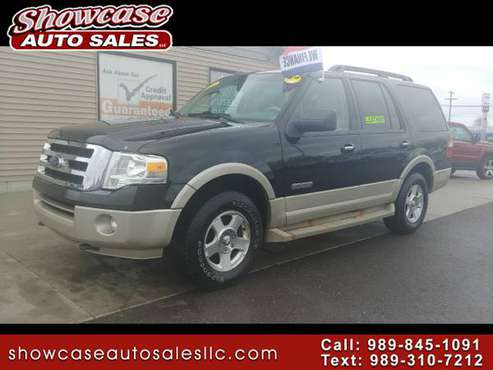 **PRICED-REDUCED!! 2008 Ford Expedition 4WD 4dr Eddie Bauer for sale in Chesaning, MI
