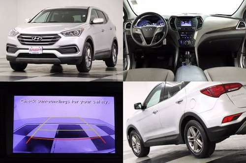 SPORTY Silver SANTA FE *2018 Hyundai Sport 2.4L* SUV *CAMERA* - cars... for sale in Clinton, MO