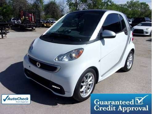 2014 smart fortwo electric drive 2dr Cpe Passion 100% Approval! for sale in Lewisville, TX