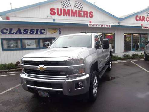 2015 CHEVY 2500 HD CREW CAB LTZ 4WD DURAMAX DIESEL for sale in Eugene, OR