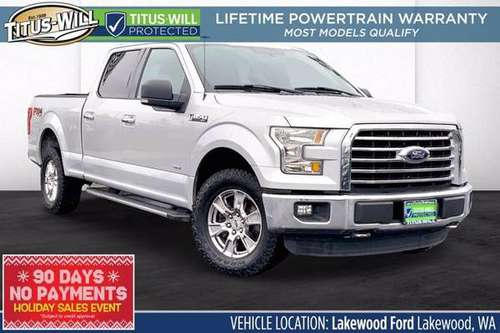 2016 Ford F-150 4x4 4WD F150 Truck XLT Crew Cab - cars & trucks - by... for sale in Lakewood, WA