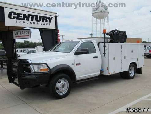 2011 Ram 5500 4X4 REGULAR CAB WHITE ****BUY NOW!! for sale in Grand Prairie, TX