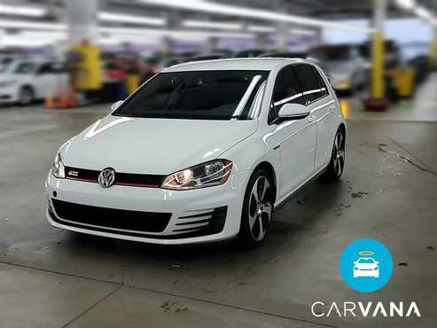 2017 VW Volkswagen Golf GTI S Hatchback Sedan 4D sedan White -... for sale in Washington, District Of Columbia