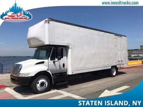 2008 INTERNATIONAL 4300 26' FEET MOVING VAN BODY MOVING TRUCK-brooklyn for sale in STATEN ISLAND, NY