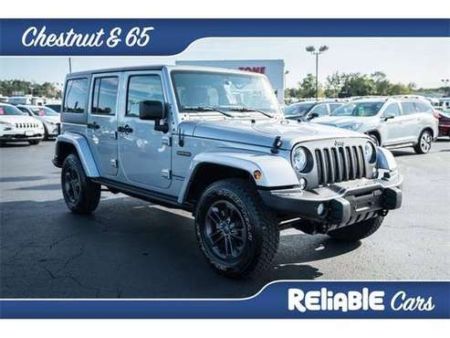 2018 Jeep Wrangler JK SUV Unlimited Sport - Jeep Billet Silver... for sale in Springfield, MO