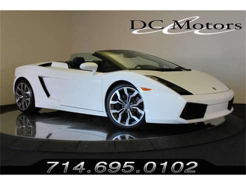 2008 Lamborghini Gallardo for sale in Anaheim, CA