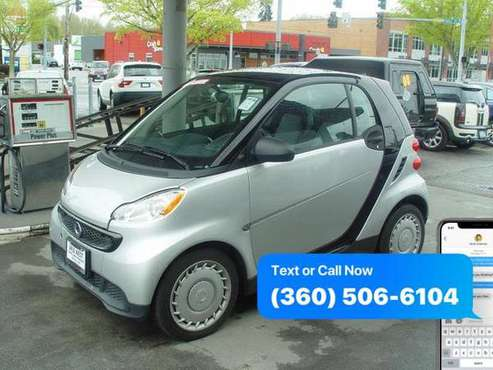 2015 Smart fortwo 2dr Cpe for sale in Mount Vernon, WA
