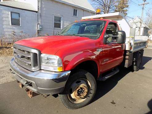 2003 Ford F550 Dump Truck 4WD !68k miles! (#8085) - cars & trucks -... for sale in Minneapolis, MN