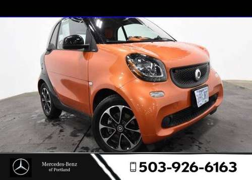 2016 smart fortwo RWD 2dr Car 2dr Cpe Passion for sale in Portland, OR