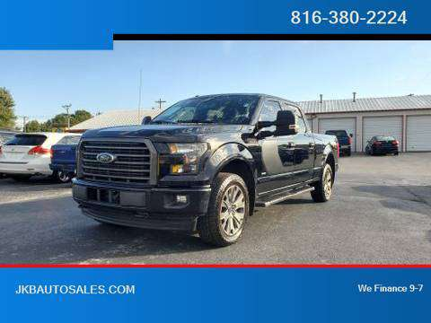 2016 Ford F150 SuperCrew Cab 4WD XLT Pickup 4D 6 1/2 ft Trades Welcome for sale in Harrisonville, KS