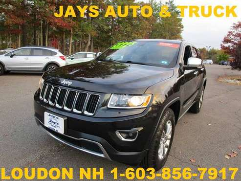 2015 JEEP GRAND CHEROKEE LIMITED 4X4 WITH CERTIFIED WARRANTY - cars... for sale in Loudon, NH