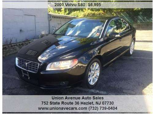 2009 VOLVO S90 1OWNER 66K MILES BLK for sale in Hazlet, NJ