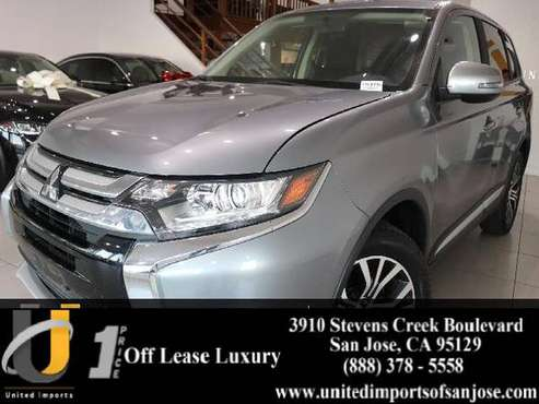 2016 *Mitsubishi* *Outlander* *SE* *AWD* 30k miles hatchback Navi for sale in San Jose, CA