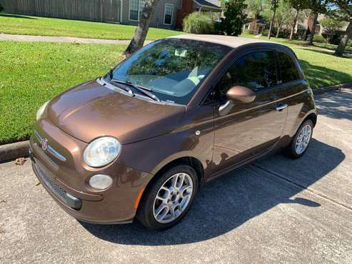 2012 Fiat 500C Pop 2 Door Convertible for sale in Houston, TX