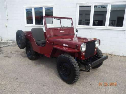 1946 Willys CJ2 for sale in Cadillac, MI