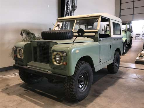 1968 Land Rover Series II 88 for sale in Richmond, IL