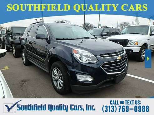 2017 Chevrolet Equinox SUV Chevy LT Equinox for sale in Detroit, MI