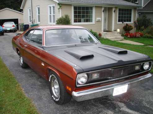 1970 Plymouth Valiant Duster-Original 340 for sale in Lombard, IL
