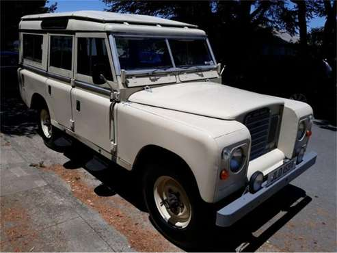 1979 Land Rover Series IIA for sale in Cadillac, MI