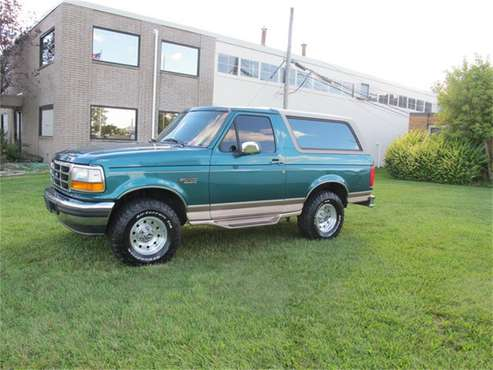 1996 Ford Bronco for sale in Troy, MI