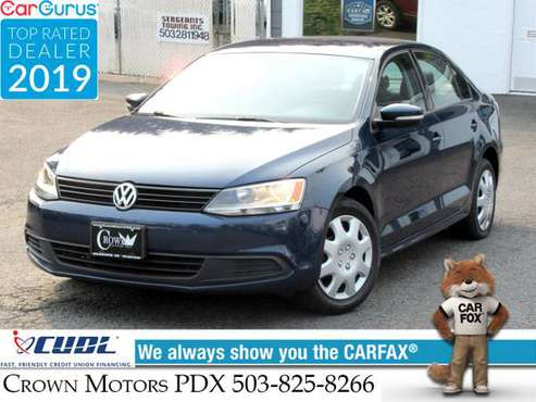2012 VW Jetta SE Leather 5 Speed Manual 105k miles - cars & trucks -... for sale in Milwaukie, OR