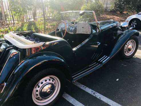 1951 Vintage MGTD for sale in Fallbrook, CA