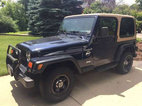 1997 Jeep Wrangler Sport 4.0L 4x4 for sale in Muskego, WI