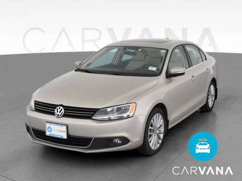 2013 VW Volkswagen Jetta 2.0L TDI Sedan 4D sedan Beige - FINANCE -... for sale in Albuquerque, NM