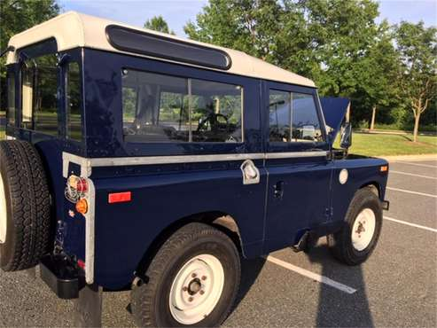1969 Land Rover Series IIA for sale in Rockville, MD