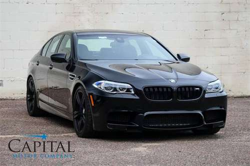 Blacked Out 2016 BMW M5 - 575hp w/Competition Pkg Upgrade! for sale in Eau Claire, ND